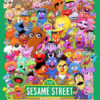 sesame street cartoon cast