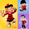 Beano minnie the minx dennis gnasher roger the dodger